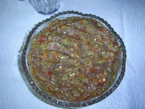 Хочу поделится свои рецептом заморозки икры из баклажан