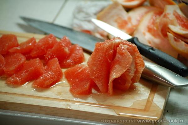 Интересный салатик с цитрусовой заправкой - 2