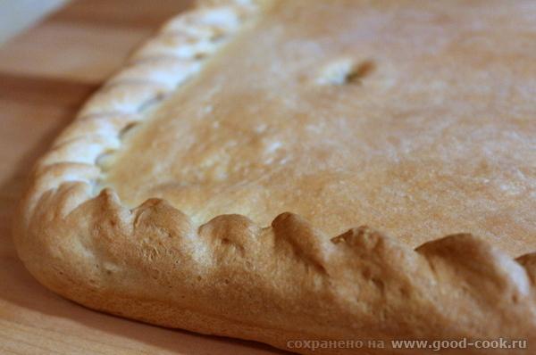 Пирог с капустой.
