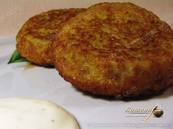 Драники, белорусское блюдо