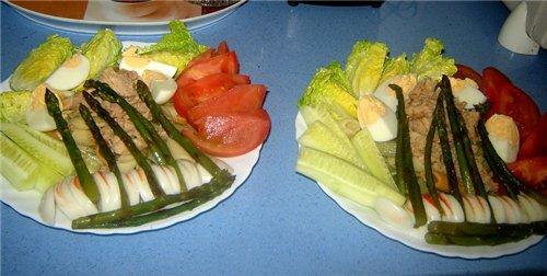 """Салат """"Прохлада"""" Самый подходящий обед в жаркую (как у нас сейчас +42) погоду - 3"""
