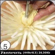 """""""Хризантема из пекинской капусты"""" - 6"""