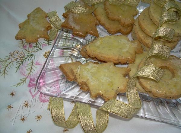 B преддверии нового года я начала выставлять блюда для праздничного стола, были уже: ЛИМОННО МАКОВЫ...