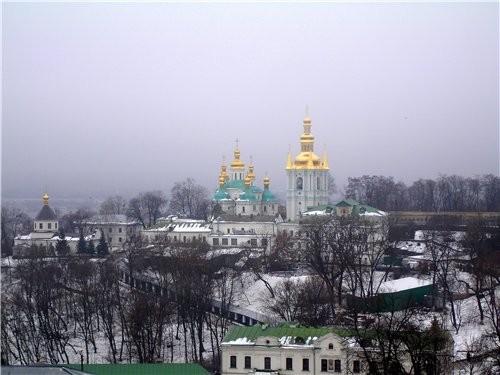 На прошлой неделе мы с мужем ездили в Киев и посетили там КИЕВО - ПЕЧЕРСКУЮ ЛАВРУ - 8