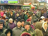 В нескольких российских городах сегодня вновь проходят акции протеста против замены льгот денежными...