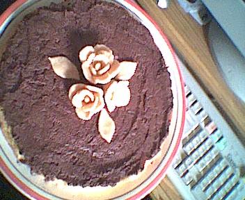 огромное спасибо за кокосовый торт с шоколадным мусом