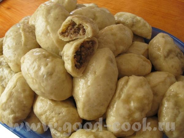 ПЕГЕЗЫ (ПЯН-СЕ) Пирожки на пару из дрожжевого теста - 2