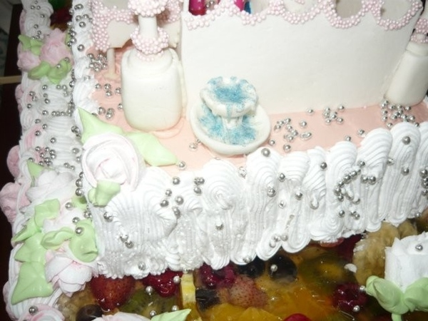 свадебный торт мечеть - 4