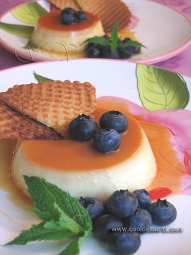 Следующий десерт - для любителей кремовой выпечки (baked custards)