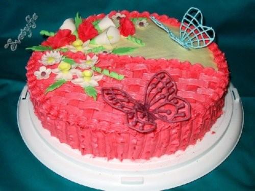 Девочки,вот мой очередной тортик