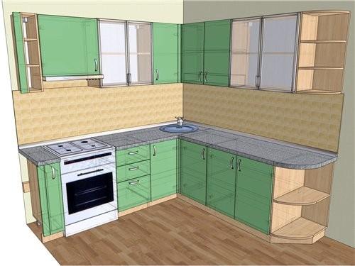 Кухня у меня меньше 7 кв