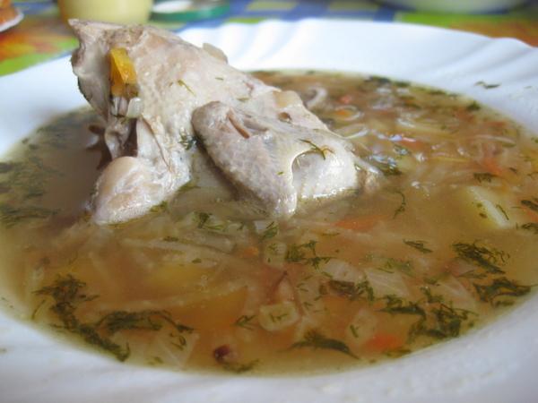 Перепелиный суп
