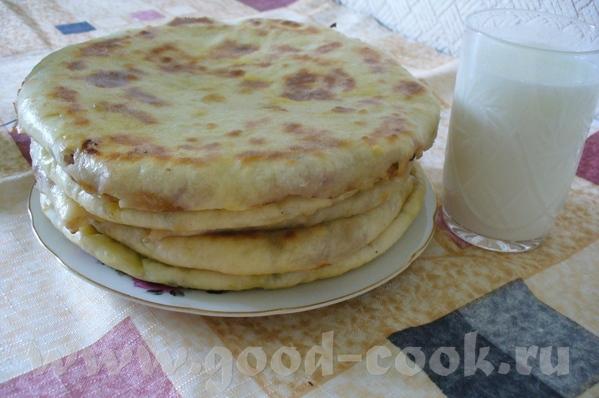 Хычины Хычины это пироги из обычного теста замешанного из любых кисло- молочных продуктов, кефира,...