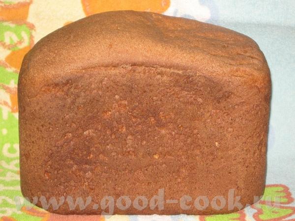 Ржаной хлеб в хлебопечке panasonic
