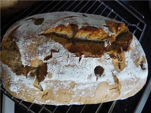 Это после холодильника, перед выпечкой первого хлеба - 2