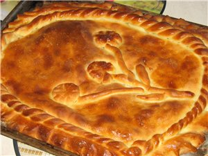 Решил пройтись по пирогам Пирог с капустой Пирог с картофелем и грибами Рецепт теста: Подогреть 0,5...