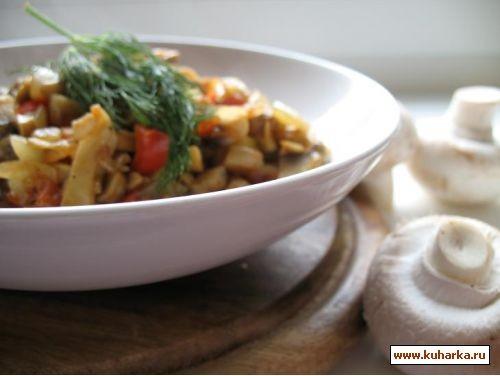 такой простой и вкусный рецепт из книги салаты и закуски грибная икра 500 г шампиньонов,1 луковица,...