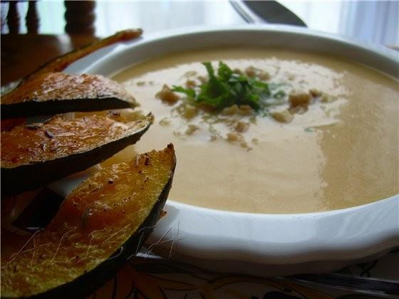 Рецепт етого супа мне дала милая пожилая дама (фермер), когда мы ездили на ферму собирать тыквы - 2