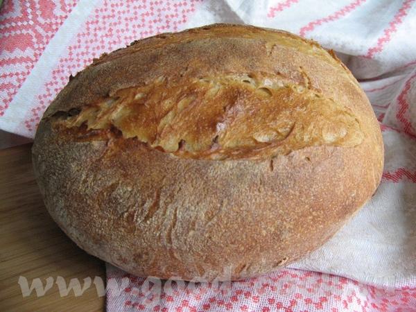 Хлеб из трех видов муки с зародышами пшеницы