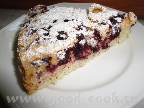 Алиса, я тоже твой пирог испекла с черной смородиной, только очень маленькая порция, в следующий ра... - 2