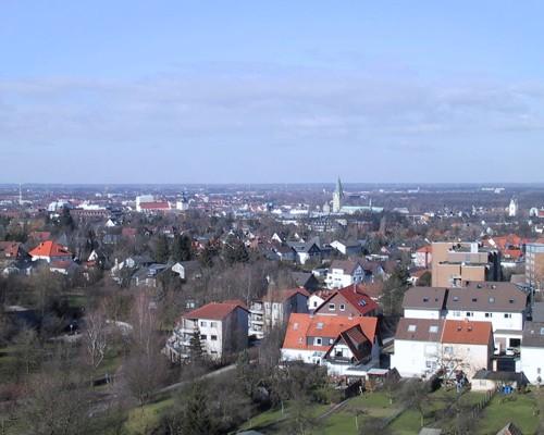 Ну а ето вид на город с высоты птичьего полета