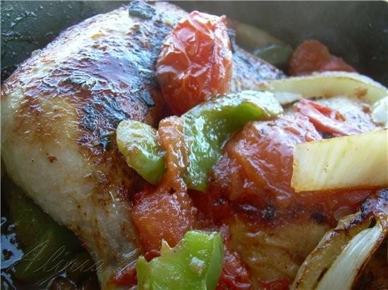 * По этому рецепту можно готовить куриные грудки, тогда время запекания уменьшается: на гриле 20 ми...