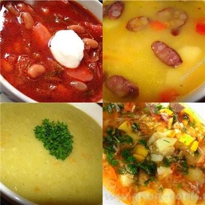 ПЕРВЫЕ БЛЮДА фасолевый суп по-монастырски голубцы фасолевый суп постный капустняк суп ,, харчо ,, с...