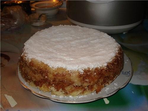 """2 раз уже пеку """"пироженное с яблоками"""" от ilga, только я не делю на приоженое как пирог мне больше..."""