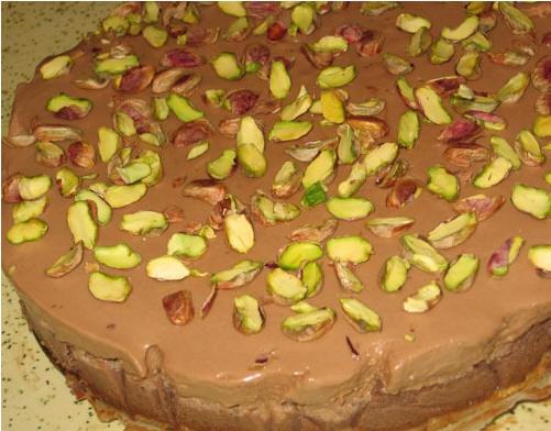 Шоколадный творожный торт с фисташками oт Light225 Люся, узнаёшь