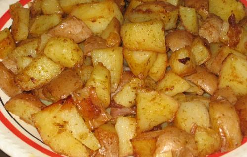 И горячее: Картошка-гриль от Острое чашушули из говядины от Милены и