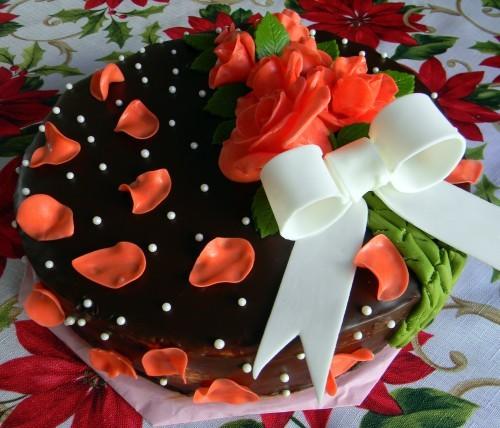 свадебный классный тортик - 3