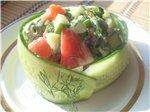 Салат - десерт из тыквы Салат Капустный с виноградом и яблоками Салат Оригинальный Салат из краснок... - 3