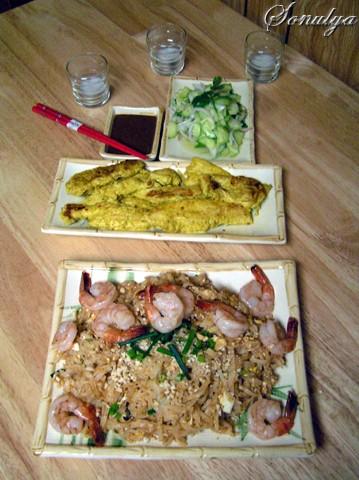 А у нас вчера был вечер Тайландской кухни которую мы с мужем очень любим
