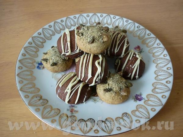 Оля, вкусное у тебя печенье- оба вида пробовала уже- понравилось