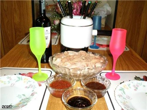Новогодний стол в этом году был очень скромным (из-за болезни) - 2