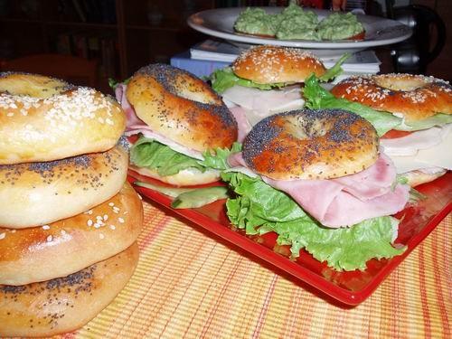 А еще вкусно позавтракать багельсами - 2