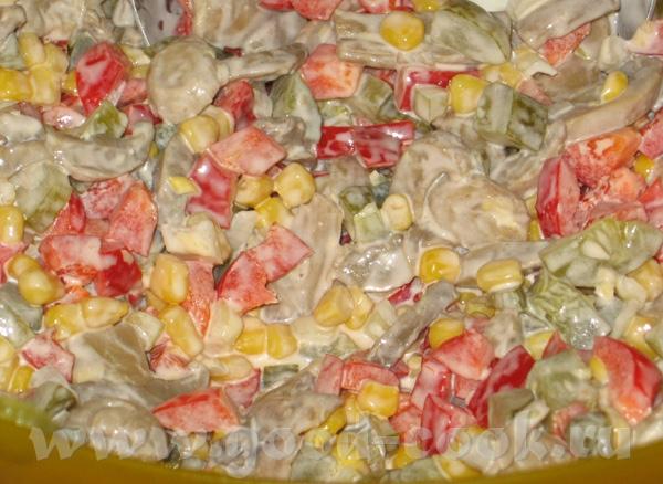 Быстрый кукурузный салат