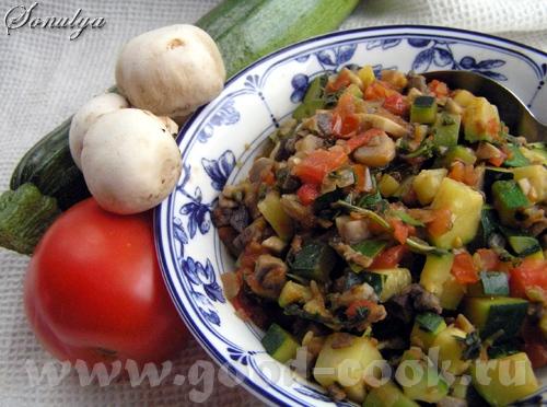 Теплый Салат по-Итальянски 1 ст