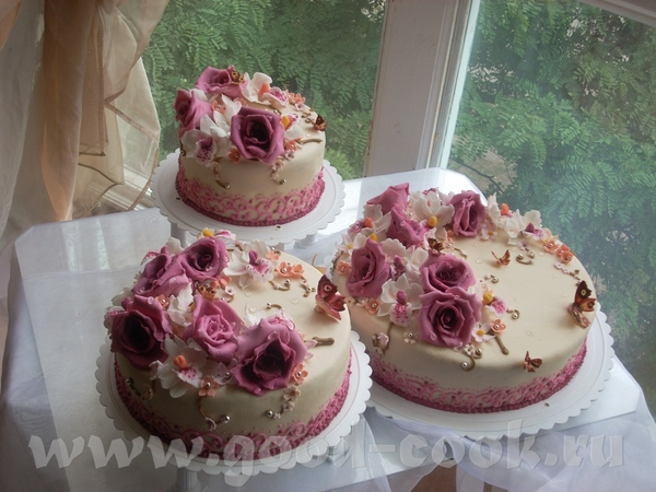 Хаска,очень аккуратные тортики - 2