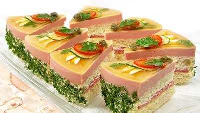 Бутербродные торты рецепт рецепт - 2