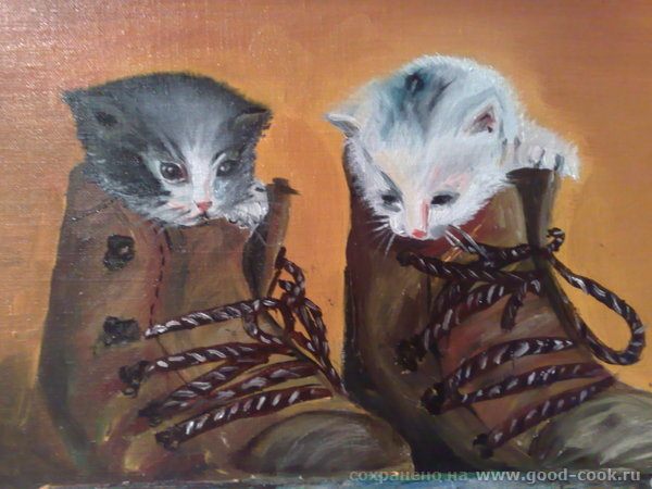 это к новому году рисовала кроликов ну и киски для настроения - 3