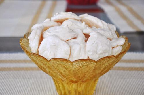 Йогуртовое печенье с пуддингом Кокосовые меренги Печенье с яблоками, финиками и грецкими орехами - 2