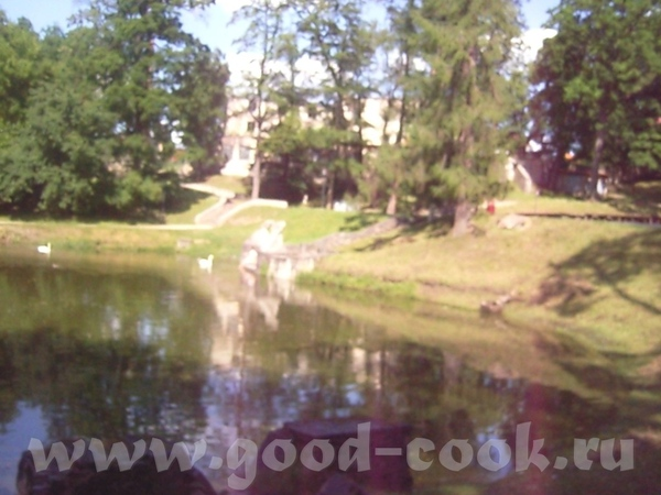 Вот была недавно в Цесисе, фотки оттуда- замок и городской пруд