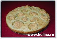 """А я вот здесь такой интересный рецепт нашла, хочу на выходных сделать: Пирог """"Яблоки в облаках"""" для... - 2"""
