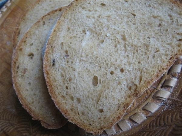 Хлеб на закваске с ячменно-солодовым концентратом Мне тут на пробу дали половинку бутылки этого сам... - 2