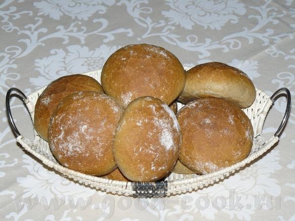 Ржаные булочки - Roggenbrцtchen Закваска: 120 г ржаной цельнозерновой(я-простая ржаная, ти 1150) 12...