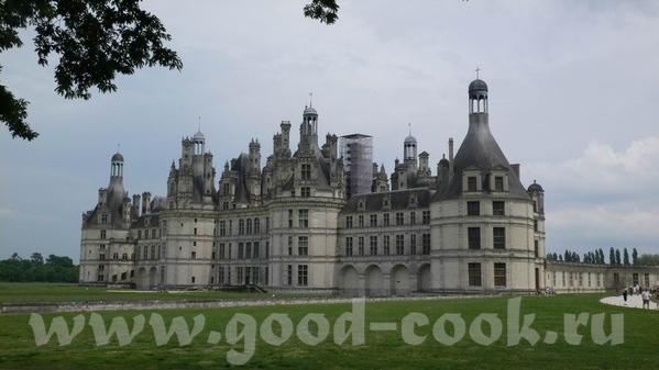 Это вид на замок Chaumont И на Луару - 4