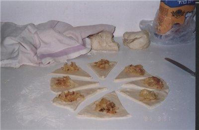 Мамины пирожки 350 гр маргарина, 25 гр дрожжей(лучше свежие или 1 столовая ложка сухих), 1,5 столов... - 3