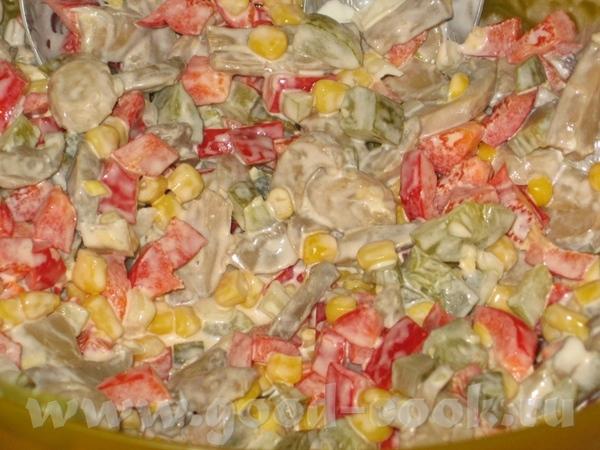Быстрый кукурузный салат - 2