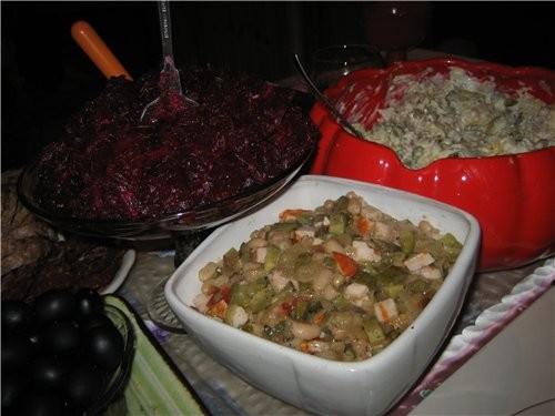 Этот салатик я попробовала на Рождество у своей подруги